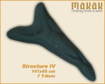 Kletterwandstruktur Arrow